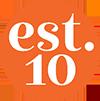 Est.10 logo-sml